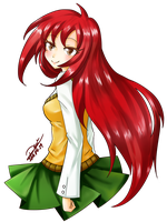 Comish Alexisfane by YuikoHeartless