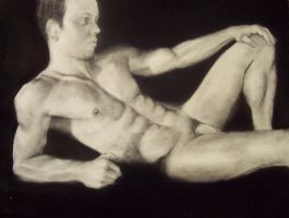 Alan, Nude Male by Clukyrat
