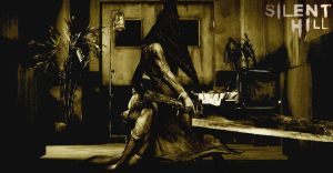 pyramid head mounting by Spit-blane
