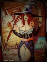 sorceress dragon's crown by soul4rusty