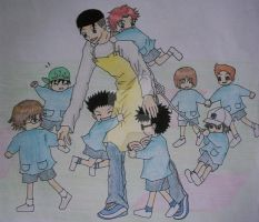 Oishi: Mother hen of Seigaku by FungiiYuki