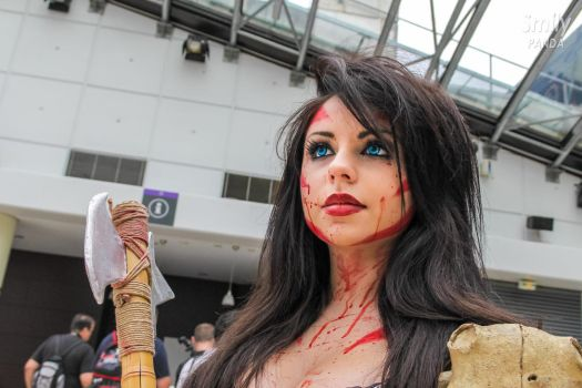 Barbarian girl - Japan Expo 2014 by PtiQuelu