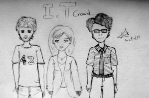 The team - IT crowd by Luyepii