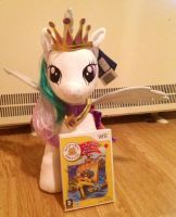 Princess Celestia Teddy by extraphotos