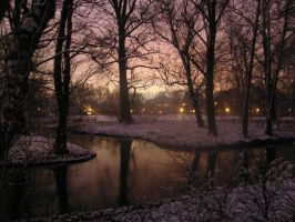 Winter in Amsterdam by Reignite