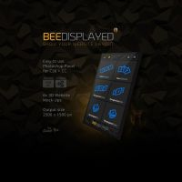BeeDisplayed - Easy Mockup Photoshop Plugin by templay-team