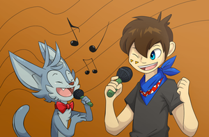 :COLLAB: Grab a mic! by Cheese-is-tasty