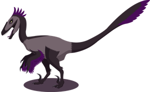 Grape Utahraptor by RobotsinBlack
