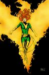 Phoenix Force Colored by Billow