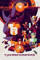 Transformers the Movie by Tom Whalen by w4graphics