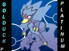 Golduck Plat by NkoGnZ