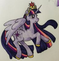 Princess Twilight Sparkle by pickletoez