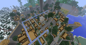Minecraft: Manasia - Fortress City 7 by Denis-Manase