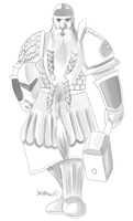 Commission: Thraldric Grumbleheart by bkc3