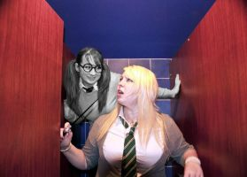 Haunting the toilets by DizzieDee