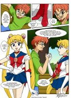 Meeting with Sailor Moon by ArthurT2015