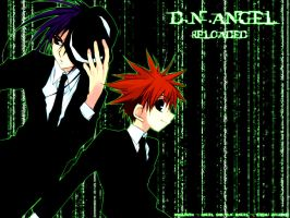 D.N. Angel - Matrix Style by arch-lucifer