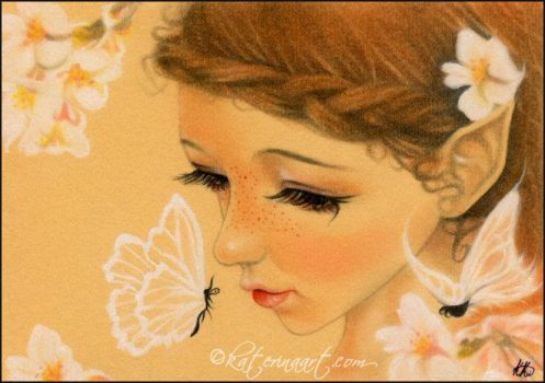 Butterfly Fairy Kisses by Katerina-Art