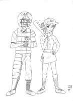 NaruSaku Baseball (raw) by payung-merah