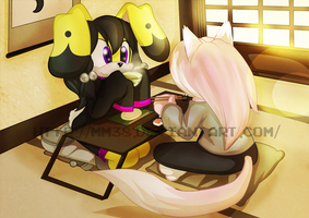 Contest entry: Sushi and tea by Mm38