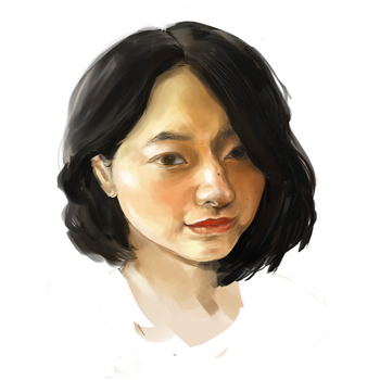 Self Portrait by DianaFang