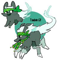 Carbons: Tsubin CO by Strontium-Chloride