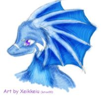 Blue Draikess For Anan by Xeikkeiu