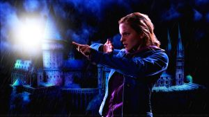 Emma Watson Wands Light III by Dave-Daring