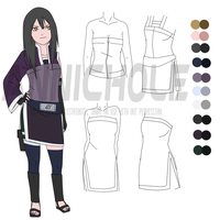 Michiko Hirahara: Outfit Reference by anniberri