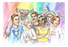 Dragon Age Pride! by liannimal