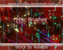 Misc Brushes by Ailedda by Ailedda