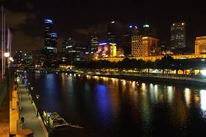 Melbourne after dark by BrendanR85