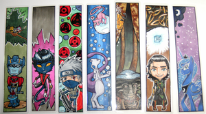 Bookmark Collection Pic by SilverXenomorph