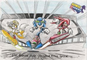 Sonic Riders by GraphiteFalcon