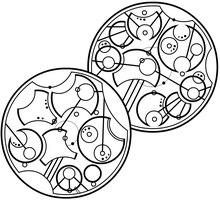 Gallifreyan 007 - WIP, Teapot, Lines 1-2 by ThorUF72