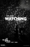 We are watching you. by Siren2k4