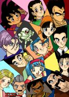 Dragon Ball GT - Coloured XD by ayuuri