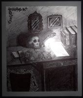 The Writer's Desk by Bonniemarie