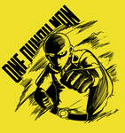 Sketch- One Punch Man (T-shirt available) by ARSONicARTZ