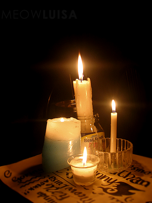 Candles during Brownouts