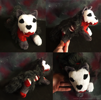 FOR SALE- Halloween Special 2014: Grey zombie wolf by goiku