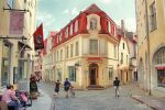 A summer day in Tallinn by Pajunen