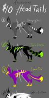 HeadTail Adoptables Batch 1 by Amethyndria