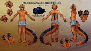 Reference Sheet commission by little-owlette