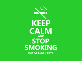 Keep Calm #054 - And Stop Smoking by HundredMelanie