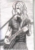 Dave Mustaine by alinaphobic