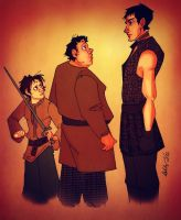 Arya meets Gendry by iMissSimplicity
