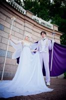 King Endymion and Queen Serenity by UsagiChiba-Selenit