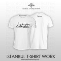 Istanbul T-Shirt Work by destroyer53