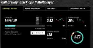Black Ops 2 stats :update: by Jcatz338